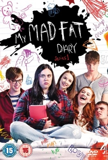 My Mad Fat Diary (1ªTemporada) - Poster / Capa / Cartaz - Oficial 1