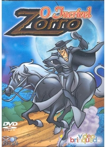 O Incrível Zorro - Poster / Capa / Cartaz - Oficial 1