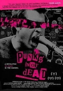 Punks Not Dead - Poster / Capa / Cartaz - Oficial 1