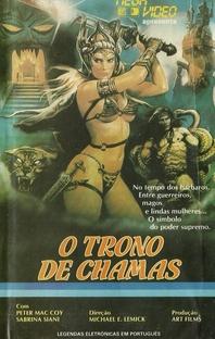 O Trono de Chamas - Poster / Capa / Cartaz - Oficial 1