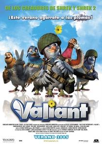 Valiant - Um Herói que Vale a Pena - Poster / Capa / Cartaz - Oficial 2