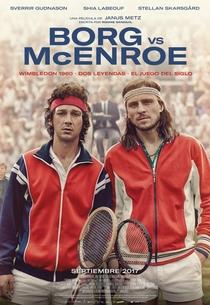 Borg vs McEnroe - Poster / Capa / Cartaz - Oficial 1