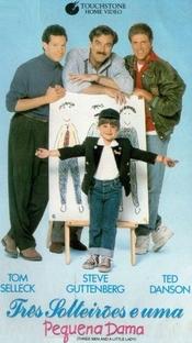 Três Solteirões e uma Pequena Dama - Poster / Capa / Cartaz - Oficial 3