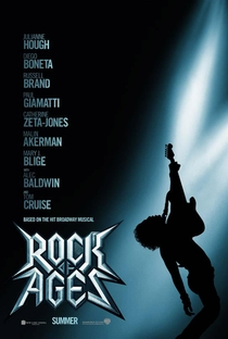 Rock of Ages: O Filme - Poster / Capa / Cartaz - Oficial 2