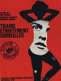 Trens Estreitamente Vigiados - Poster / Capa / Cartaz - Oficial 4