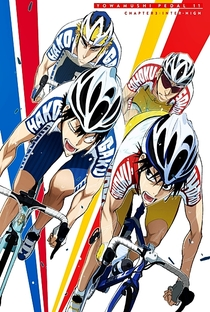 Yowamushi Pedal (1ª Temporada) - Poster / Capa / Cartaz - Oficial 12