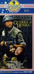 Guerra de Honra - Poster / Capa / Cartaz - Oficial 1