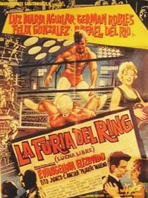 La Furia del Ring - Poster / Capa / Cartaz - Oficial 1
