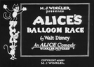 Alice's Balloon Race (Alice's Balloon Race)
