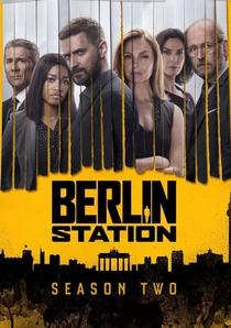 Berlin Station (2ª Temporada) - Poster / Capa / Cartaz - Oficial 1