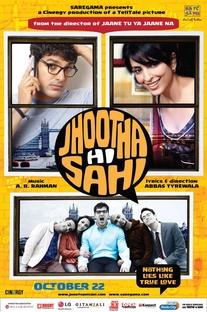 Jhootha Hi Sahi - Poster / Capa / Cartaz - Oficial 1