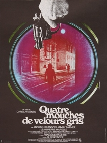 Quatro Moscas Sobre Veludo Cinza - Poster / Capa / Cartaz - Oficial 1
