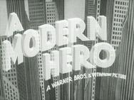 A Modern Hero - Poster / Capa / Cartaz - Oficial 1
