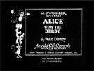Alice Wins the Derby (Alice Wins the Derby)