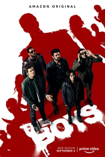 The Boys (2ª Temporada) - Poster / Capa / Cartaz - Oficial 2