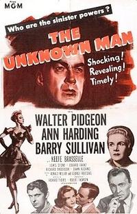 O Homem Desconhecido - Poster / Capa / Cartaz - Oficial 2