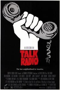 Talk Radio - Verdades Que Matam - Poster / Capa / Cartaz - Oficial 3