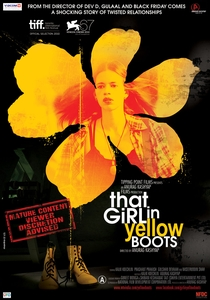 That Girl in Yellow Boots - Poster / Capa / Cartaz - Oficial 2