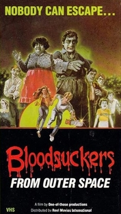 BloodSuckers from Outer Space - Poster / Capa / Cartaz - Oficial 1