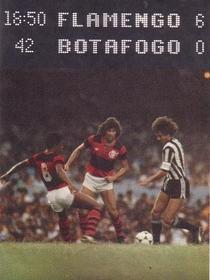 Jogos Para Sempre: Flamengo 6 x 0 Botafogo - Campeonato Carioca 1981 - Poster / Capa / Cartaz - Oficial 1
