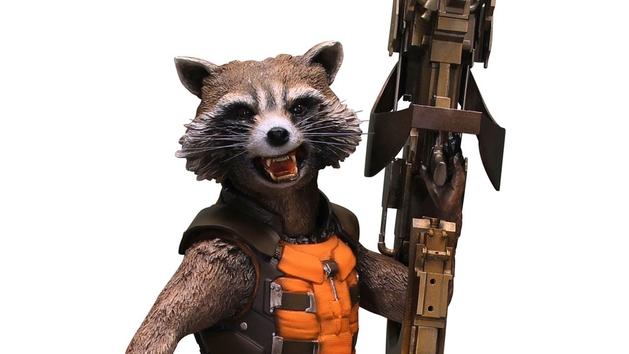 Guardiões da Galáxia: Rocket Raccoon terá estátua em tamanho real