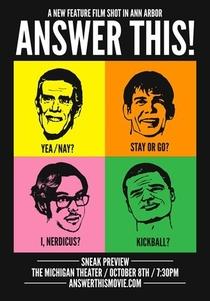 Responda Isto!  - Poster / Capa / Cartaz - Oficial 1
