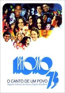 Phono 73 - O Canto de um Povo - Poster / Capa / Cartaz - Oficial 1
