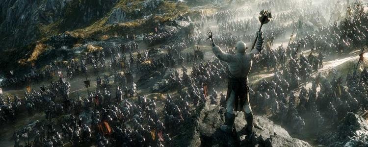 """""""A Batalha dos Cinco Exércitos"""" ganha um painel tão épico quanto o filme promete ser"""