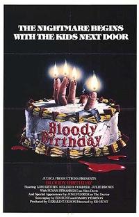 Aniversário Sangrento - Poster / Capa / Cartaz - Oficial 1