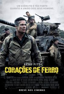 Corações de Ferro - Poster / Capa / Cartaz - Oficial 3