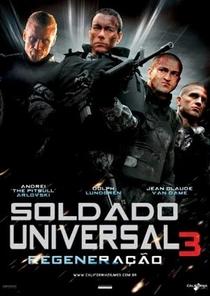 Soldado Universal 3 - Regeneração - Poster / Capa / Cartaz - Oficial 2