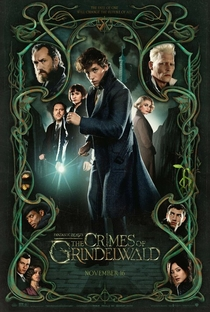 Animais Fantásticos - Os Crimes de Grindelwald - Poster / Capa / Cartaz - Oficial 7