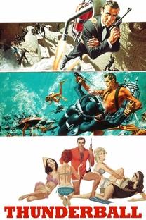 007 - Contra a Chantagem Atômica - Poster / Capa / Cartaz - Oficial 5