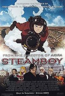 Steamboy - Poster / Capa / Cartaz - Oficial 4