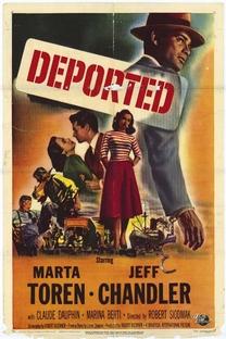 Deportado - Poster / Capa / Cartaz - Oficial 1
