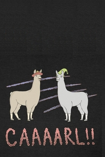 Llamas With Hats - Poster / Capa / Cartaz - Oficial 1