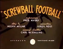 Screwball Football - Poster / Capa / Cartaz - Oficial 1