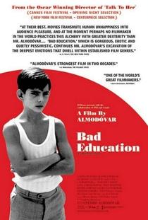 Má Educação - Poster / Capa / Cartaz - Oficial 4
