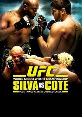 UFC 90: Silvia vs. Cote - Poster / Capa / Cartaz - Oficial 1