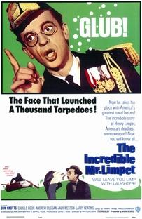O Incrível Mr. Limpet - Poster / Capa / Cartaz - Oficial 2