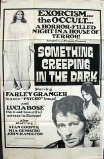 Something Is Crawling in the Dark - Poster / Capa / Cartaz - Oficial 2