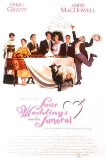 Quatro Casamentos e Um Funeral - Poster / Capa / Cartaz - Oficial 5