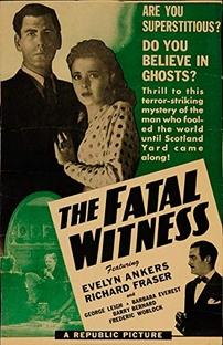 Testemunha Fatal - Poster / Capa / Cartaz - Oficial 2