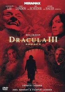Drácula 3: O Legado Final - Poster / Capa / Cartaz - Oficial 1
