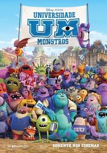 Universidade Monstros - Poster / Capa / Cartaz - Oficial 3