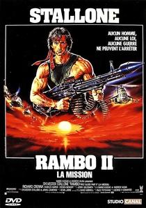 Rambo II - A Missão - Poster / Capa / Cartaz - Oficial 2