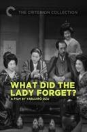 O Que Esta Mulher Esqueceu? (Shukujo wa nani o wasureta ka)