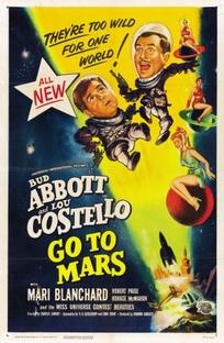 Abbott e Costello no Planeta Marte - Poster / Capa / Cartaz - Oficial 1