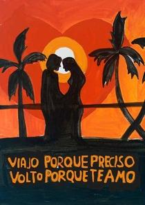 Viajo Porque Preciso, Volto Porque Te Amo - Poster / Capa / Cartaz - Oficial 2