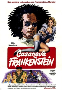Casanova Frankenstein  - Poster / Capa / Cartaz - Oficial 1